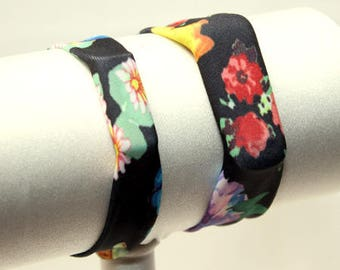 Flowers - Fitness Band for Step Trackers - Spandex Bracelet