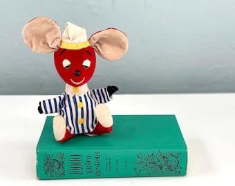 Vintage R. Dakin Dream Pets Made in Japan Sleepy Mouse, Vintage Stuffed Animal