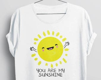 6b2ffc121d42 You Are My Sunshine Shirt, cute t shirt for women, cute shirt, women tshirt,  you are my sunshine tee shirt, kids tee shirt, cute tops, women