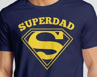 929bd597e Super Dad Shirt | Dad Gift for Husband or Father with Superhero Dad Tshirt  Graphic, Father's Day or Baby Shower Gift for Him Superdad Tee