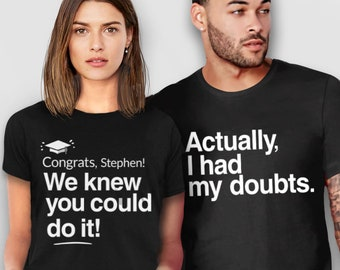 f92ce50409 Graduation Shirts for Family | 2019 Matching Graduation tshirts for mom and  dad, funny graduation t shirts, custom graduation tees parents