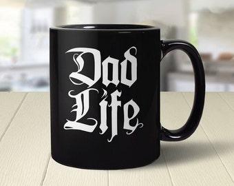 Dad Life Mug, Funny Dad Mug, Funny Dad Gift for New Dad Coffee Cup, Cool Dad Birthday Gift, Funny Coffee Mug, Dad Humor Mug, Mens Gift Idea
