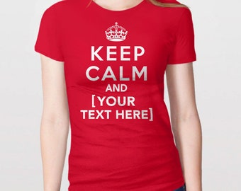 Player Fan Gift Womens T-Shirt Keep Calm and Play Basketball