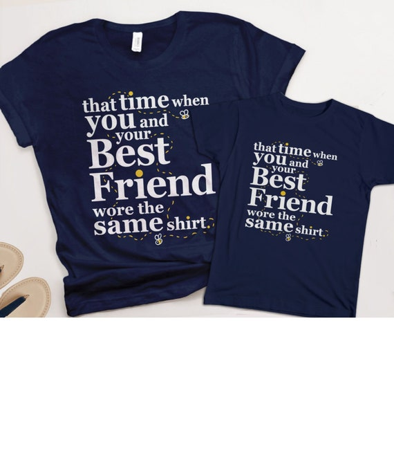 Mother Daughter Shirts for Best Friends | matching tshirts, mommy and me tees, funny best friend t shirts for women men kids, photo outfit