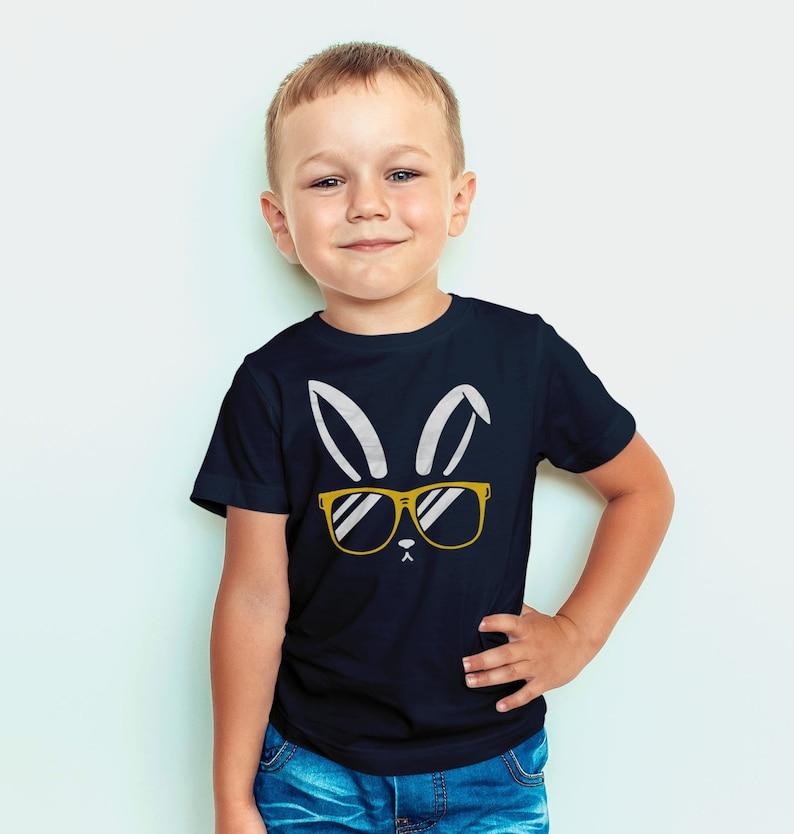 76d09321 Cute Easter Shirt for Boy or Girl Bunny Ear T shirt for Kids   Etsy