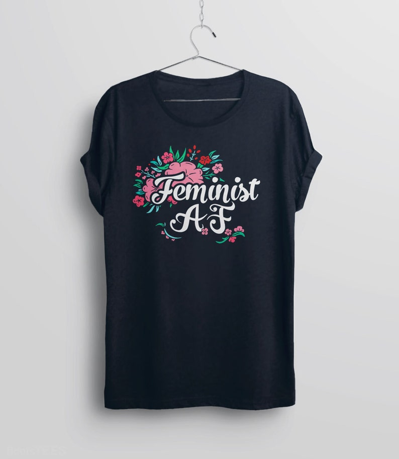 25213bef0 Feminist AF Shirt feminist af tshirt feminist t shirt for | Etsy