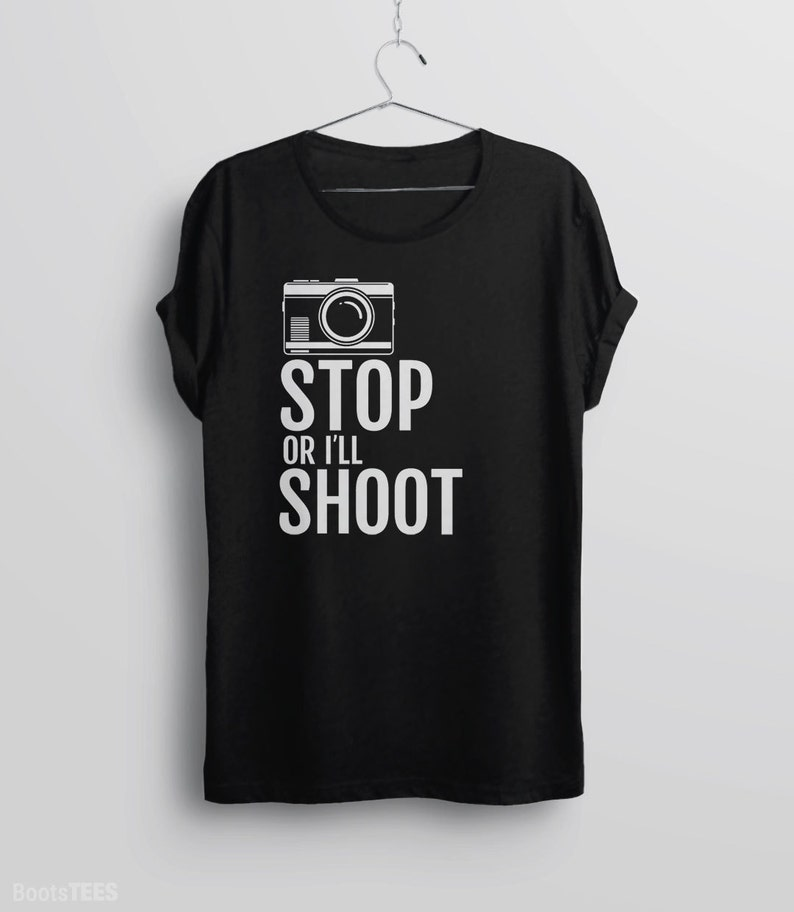 41deb22932 Photographer Gift Shirt Womens Photography T Shirt Camera | Etsy