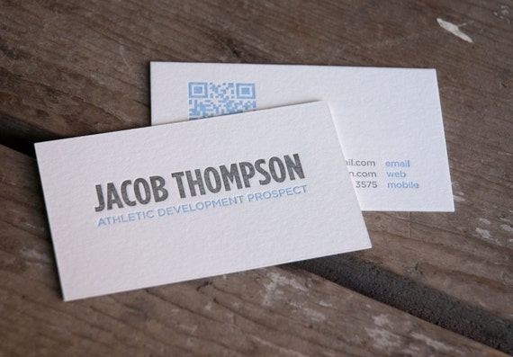 Custom diy letterpress printed business cards or calling reheart Image collections