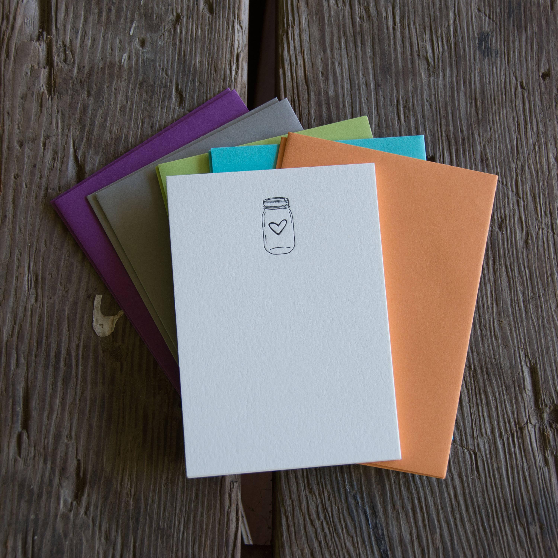 10 pack letterpress printed eco friendly. Hedgehog Stationery Set