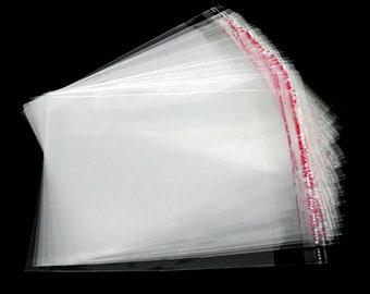 50 Cellophantütchen Cellophanbeutel 165 x 225 mm Cellophanhüllen