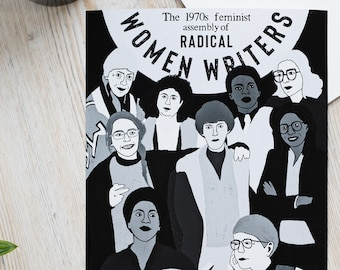 The 1970s Feminist Assembly of Radical Women Writers Poster