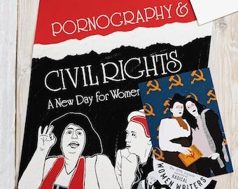 Andrea Dworkin and Catharine MacKinnon Poster