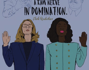 Anita Hill and Christine Ford Poster