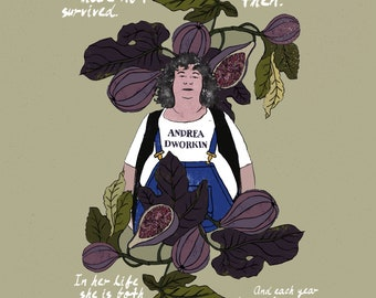 Andrea Dworkin Homage Poster