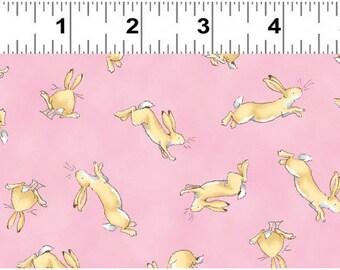 Guess How Much I Love You 2, Nursery Fabric, Anita Jeram, Clothworks, Bunny Fabric, Half Yard