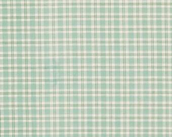 Verna Mosquera, Summer Plaid in Honey, Plaid fabric, Rosewater Fabric, One Yard
