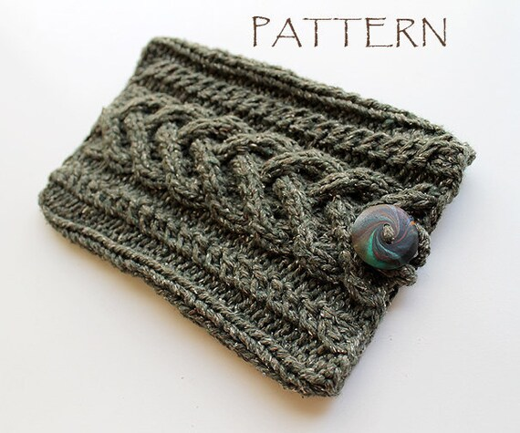 Pattern Knitted Kindle Cover Sleeve Etsy