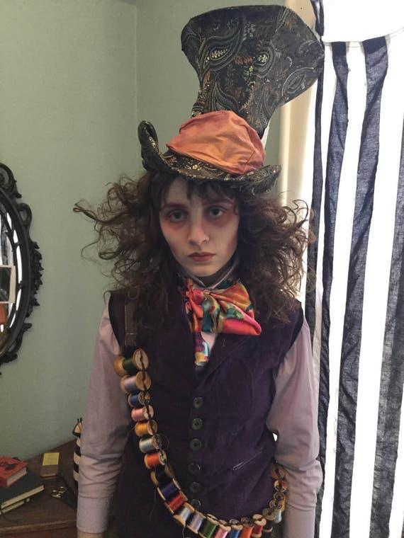 Mad Hatter Hat Tim Burton Johnny Depp Mad Hatter Tophat Mad   570 x 760 jpeg 80kB