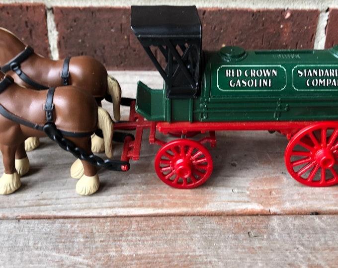 Vintage Amoco Ertl Horses and Tank Wagon Bank Ertl Tank Bank Vintage Amoco Bank Vintage Ertl Wagon Horses /& Tank Wagon Bank AMOCO