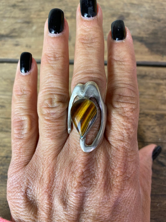 Ring - Sterling Silver Ring - Ladies Silver Ring -