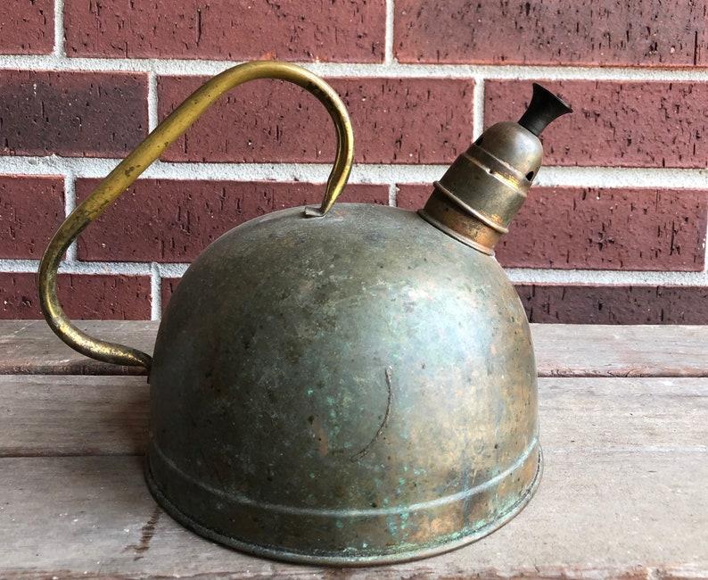 Copper Kettle Vintage Copper Teapot Vintage Kettle Antique Kettle Kitchen Kettle Dining Serving Vintage Brass Copper Kettle
