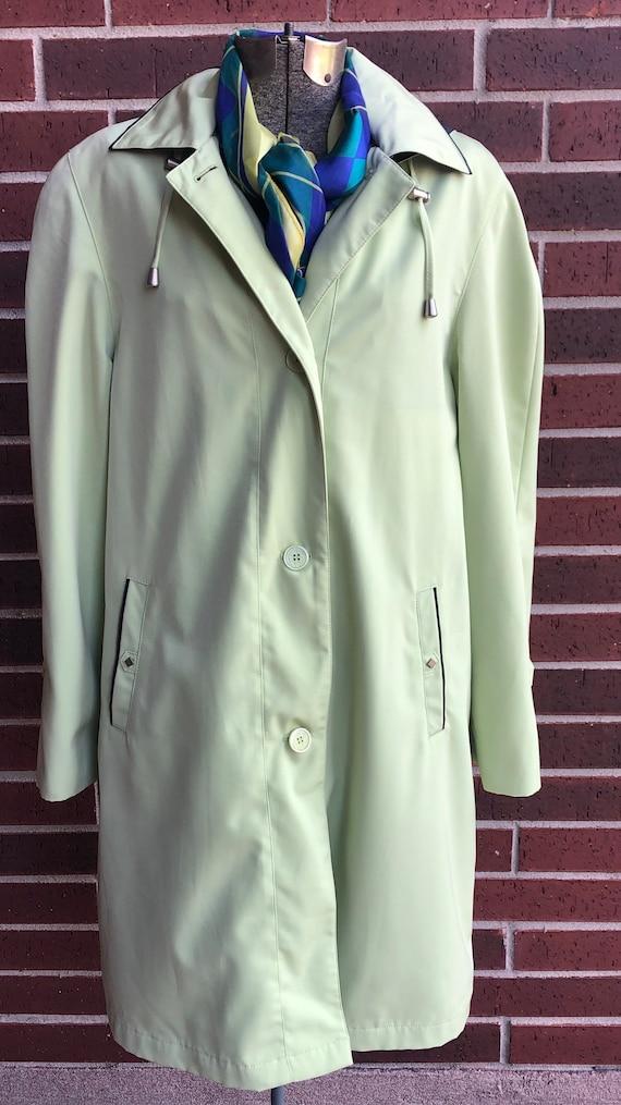 Coat - Liz Claiborne Coat - Raincoat - Vintage Liz