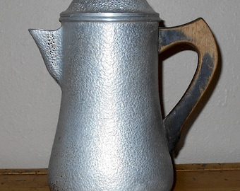 Century Silver Seal Coffee Pot - Vintage Silver-tone Coffee Pot - Mid-Century Coffee Pot