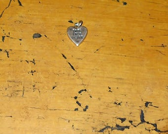 True Love Waits Pendant - Sterling Silver - 925 - SJC - Jewelry - Pendant - Heart Pendant - True Love