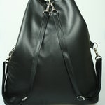 RESERVED Black Small Backpack