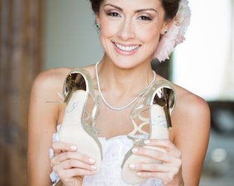 I DO Shoe Stickers for your Bridal Shoes