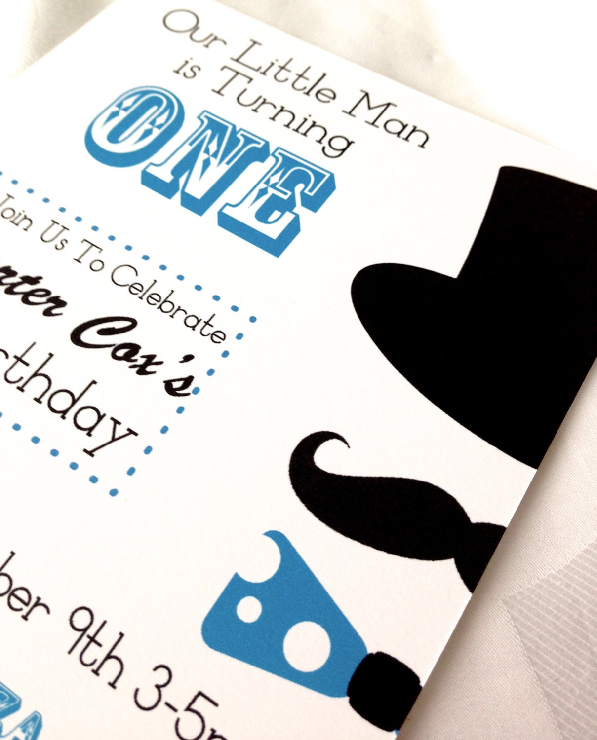 Little Man Mustache Party , Bow Tie, and Top Hat Baby Shower or ...
