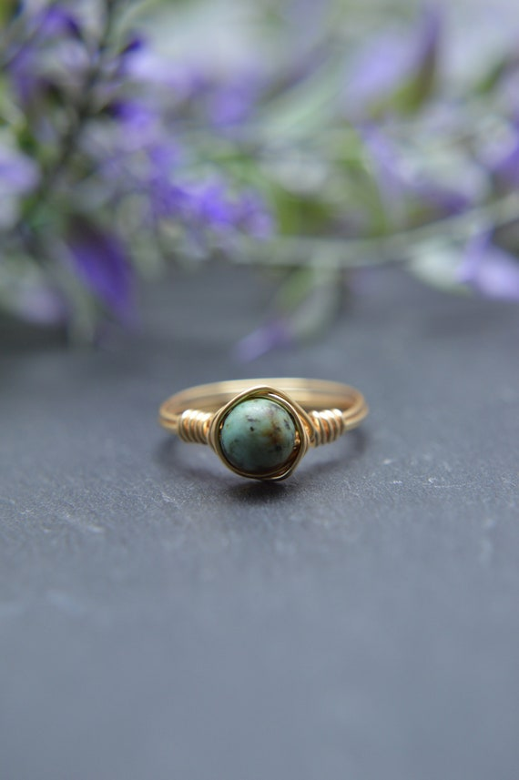 Turquoise Wire Ring