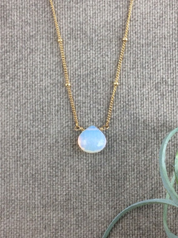 Opalite Pendant Necklace
