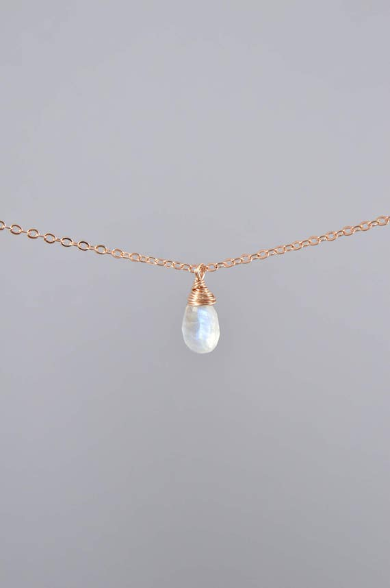 Rainbow Moonstone Pendant Bead