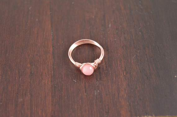Pink Morganite Wire Ring