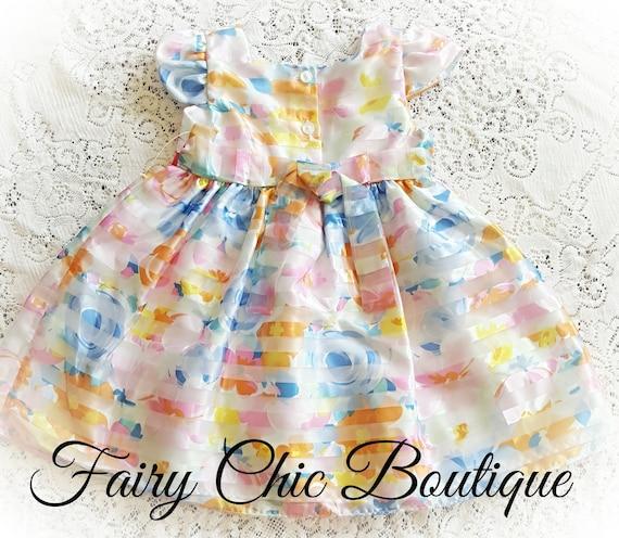 Toddler Dress Set Three Piece Set Church outfit DrBon11