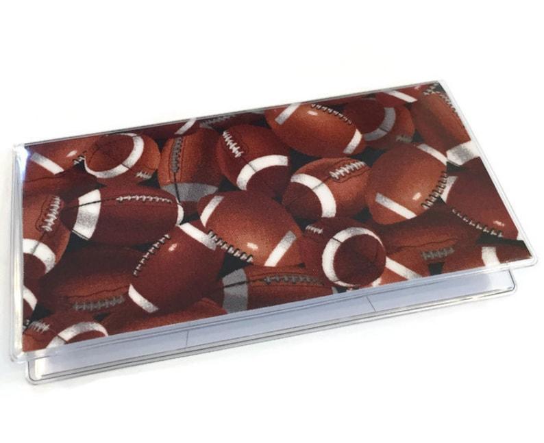 Checkbook Cover Football