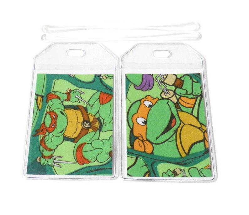 Luggage Tags Set of 2 Teenage Mutant Ninja Turtles image 0