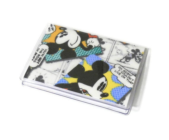 Sale Card Case Mini Wallet Mickey Mouse Comics