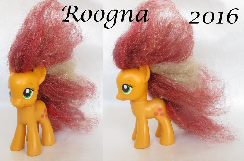 Custom Rehaired Puff My Little Pony G4 FiM Friendship is Magic Apple Jack  Applejack