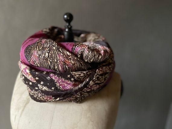 Balinese batik scarf or table decoration