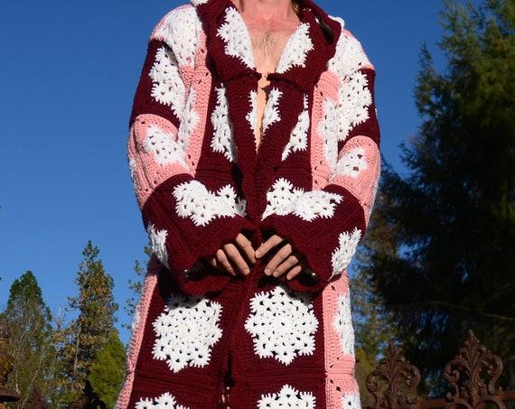 Crochet Snowflake Robe