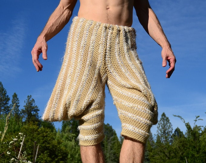 Crochet Shorts Harem Pants and Flaps