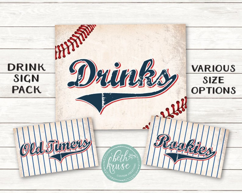 photo about Concession Stand Signs Printable known as Baseball Beverages Printable Indications Instantaneous Obtain by means of Beth Kruse Custom made Creations