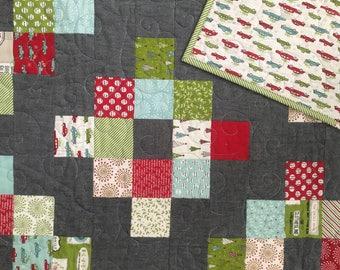 Handmade Christmas Cakewalk Quilt