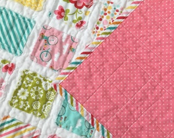 Fancy Free Handmade Baby/Toddler Quilt