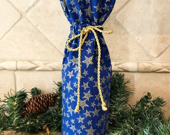 Holiday Wine/Gift Bag/Hostess Gift