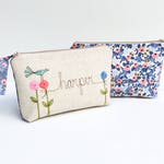 Rifle Paper Co, Personalized Makeup Bag, Gifts for Sister, Makeup Organizer, Cosmetic Bag, Sister Gift, Floral, Make Up Bag for Her, ONE Bag