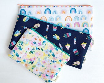 Diaper Bag Organizer Pouches, Baby Shower Gift for Mom, New Mom Gift, Zipper Pouch