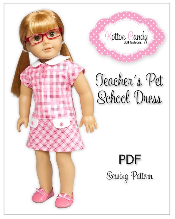 PDF Sewing Pattern for 18 American Girl Doll Clothes | Etsy